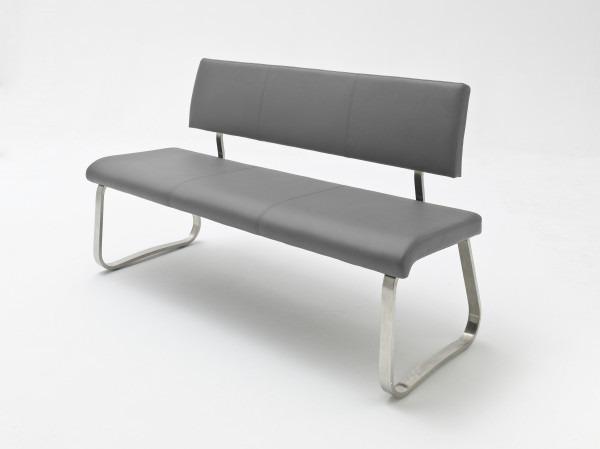 Sitzbank | Arco | Echtleder grau | AB2