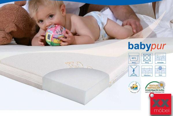 Babymatratze Kaltschaum Babypur | H2 | Ergovital®