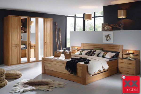Schlafzimmer | Sitara | Erle teilmassiv | S72