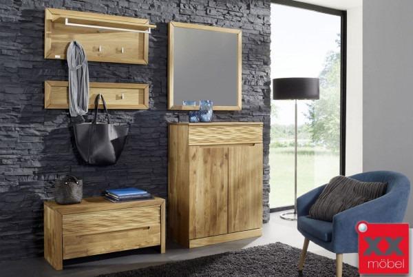 Garderoben Set | Arcona | Kernbuche o. Wildeiche Massivholz K02