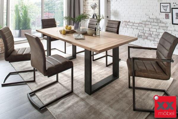 Tischgruppe | Almeida | Eiche massiv | TA18