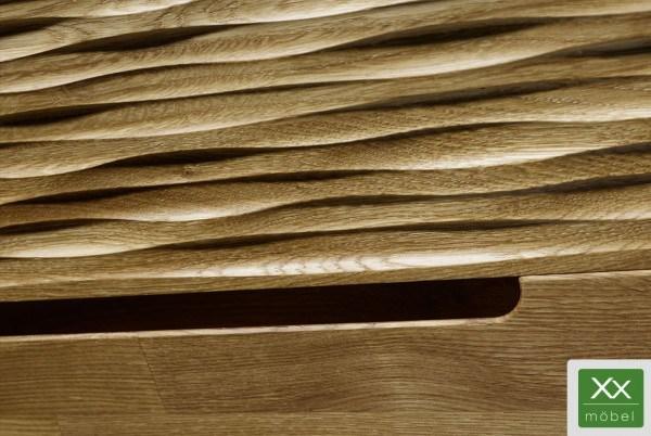 Klappenschrank | Arcona | Wildeiche Massivholz T81