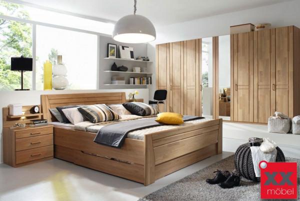 Schlafzimmer | Sitara | Wildeiche teilmassiv | W69