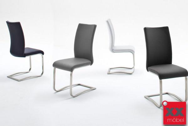 Schwingstuhl | Arco | Echtleder in Farben | AR1