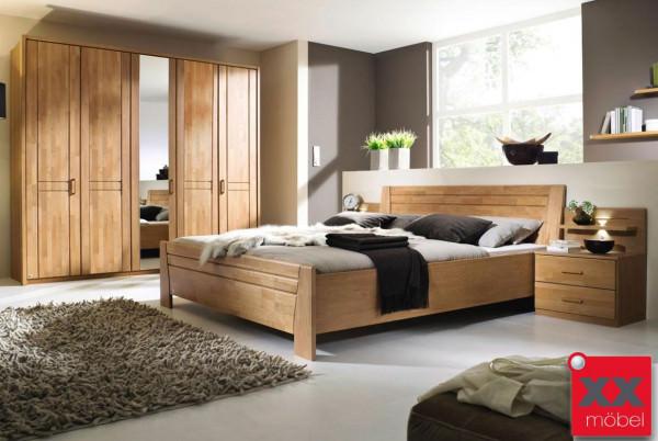 Schlafzimmer Erle | Sitara | Kleiderschrank 5-trg | B44