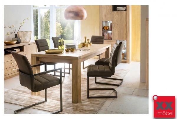 Tischgruppe | Prato | Massivholz Eiche furniert | T60S