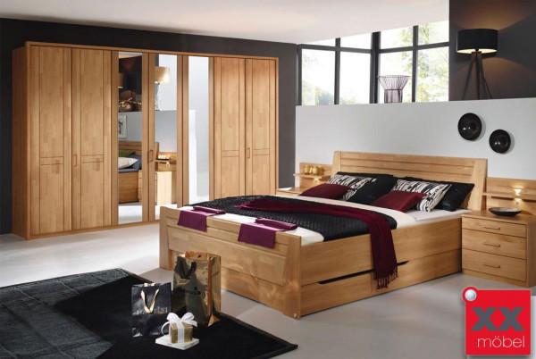 Schlafzimmer | Sitara | Erle teilmassiv | S59