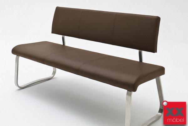 Sitzbank | Arco | Echtleder braun | AB3