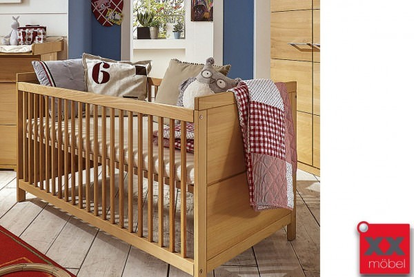 Babybettgitter | M&H Kids | Massivholz Buche | T09