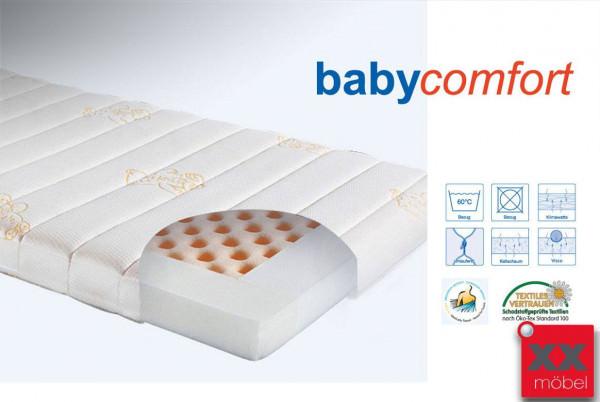Babymatratze Kaltschaum Babycomfort   H2   Ergovital®