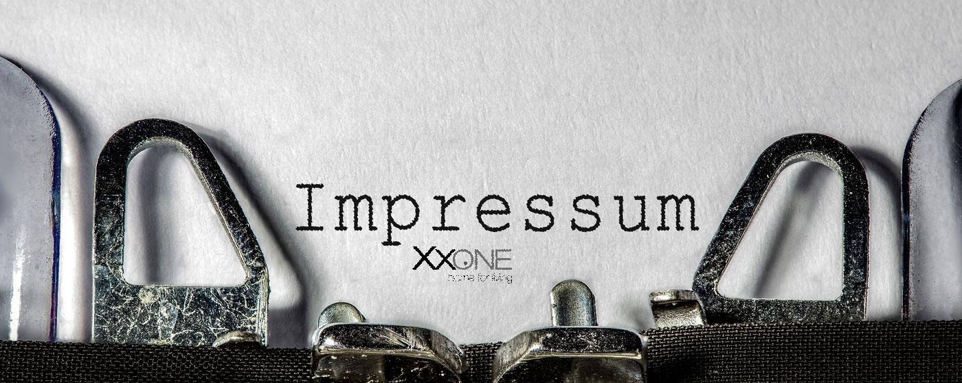 XXONE Möbel Impressum