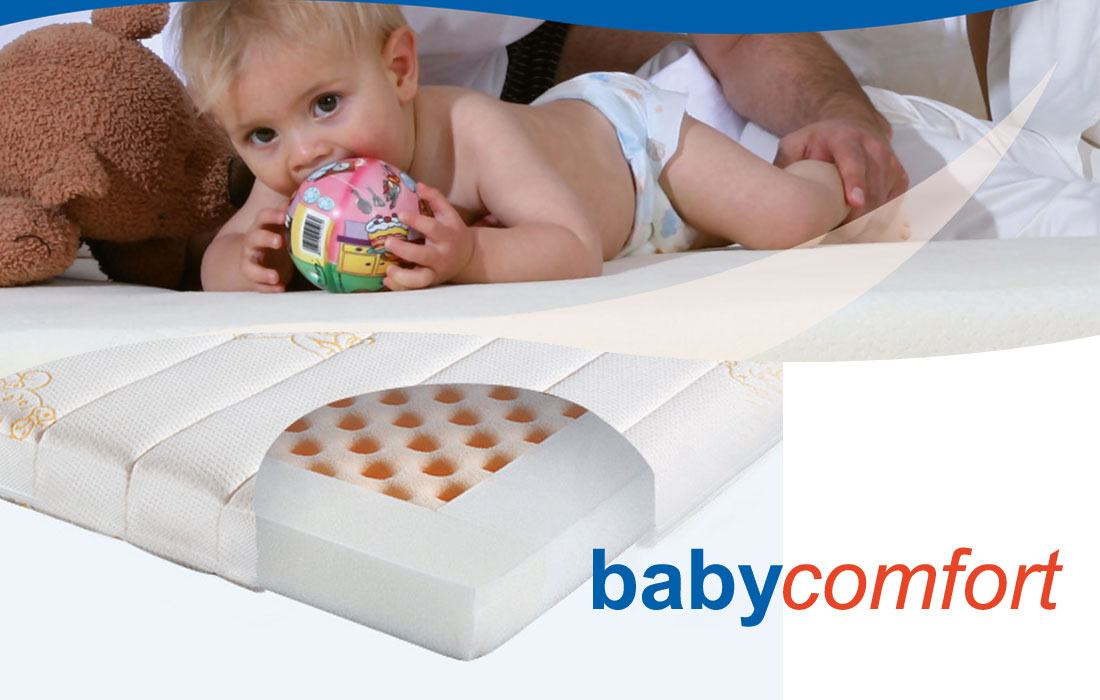 Abbildung Kaltschaum-Matratze 'Babycomfort' | Ergovital