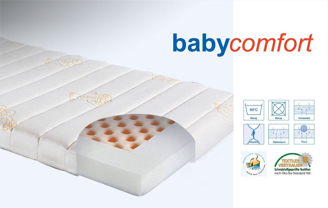 Angaben Kaltschaum-Matratze 'Babycomfort' | Ergovital