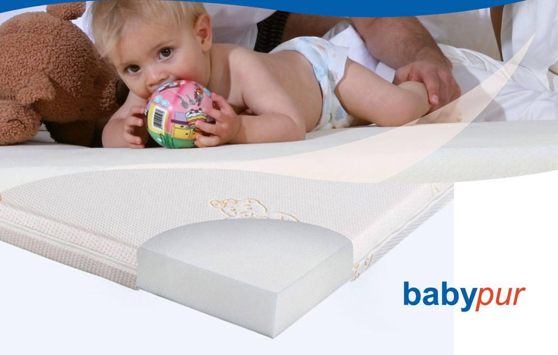 Abbildung Kaltschaum-Matratze 'babypur' | Ergovital