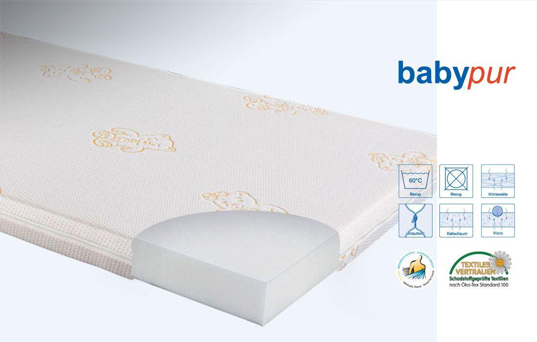 Angaben Kaltschaum-Matratze 'babypur' | Ergovital