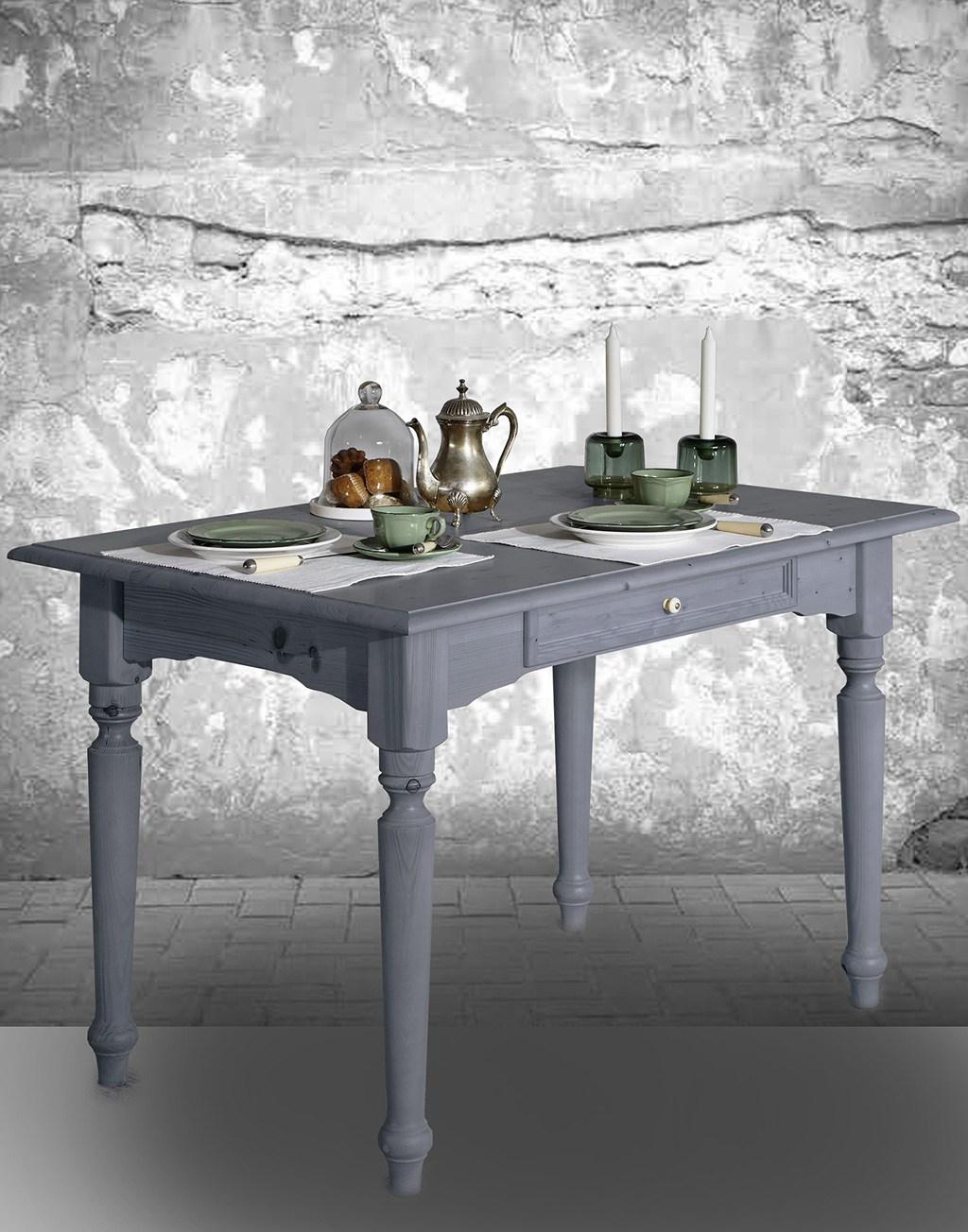Abbildung Tisch Alina in grau.