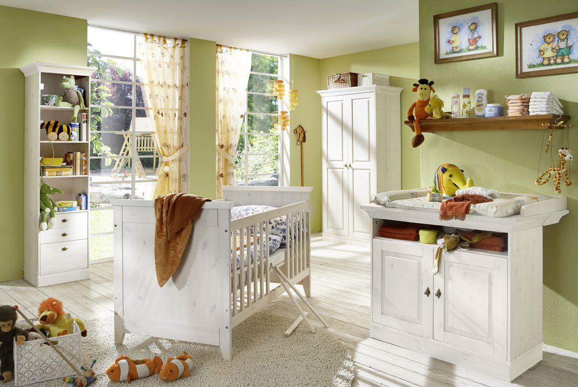 babyzimmer landhausstil weiss   x-line   babyzimmer komplett   k02