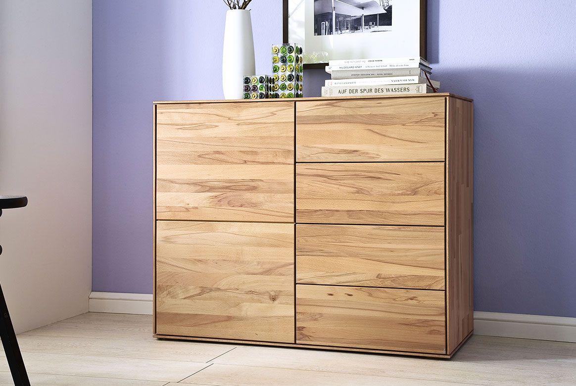 Abbildung Schlafzimmer Kommoden Massivholz Buche geölt | Mercur