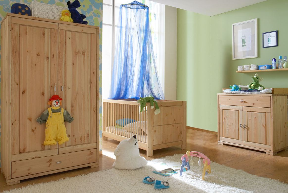 babyzimmer massivholz   guldborg   kiefer massiv geölt   b03