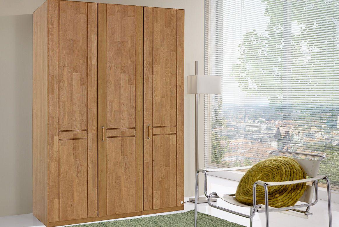Abbildung Kleiderschrank Erle teilmassiv 3-trg. Sitara | E24