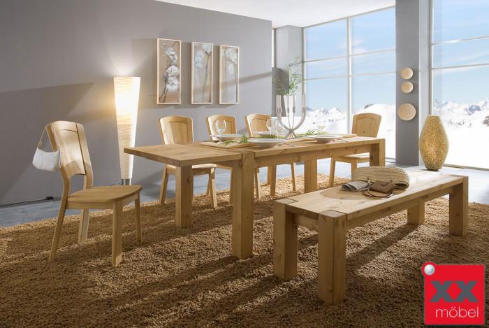 Tischgruppe | Vita | Kiefer Massivholz | T11