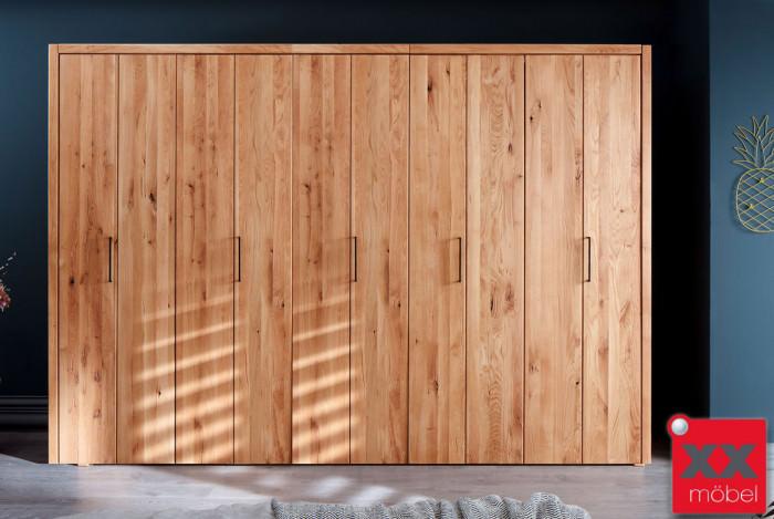 Kleiderschrank | Rödig | Wildeiche Massivholz | T05