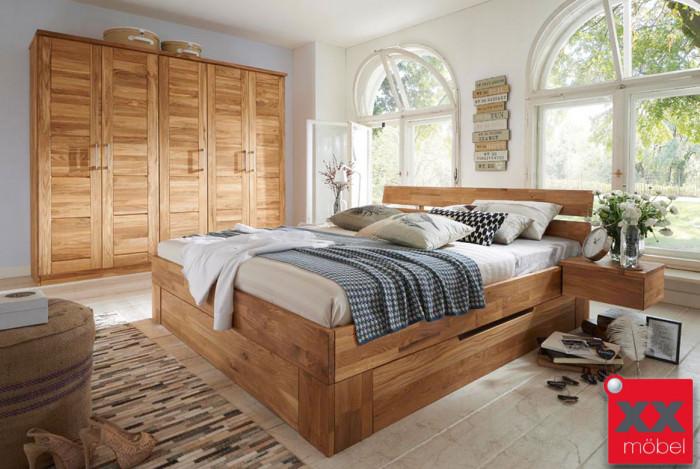 Schlafzimmer | Nixt | Wildeiche Massivholz | S02