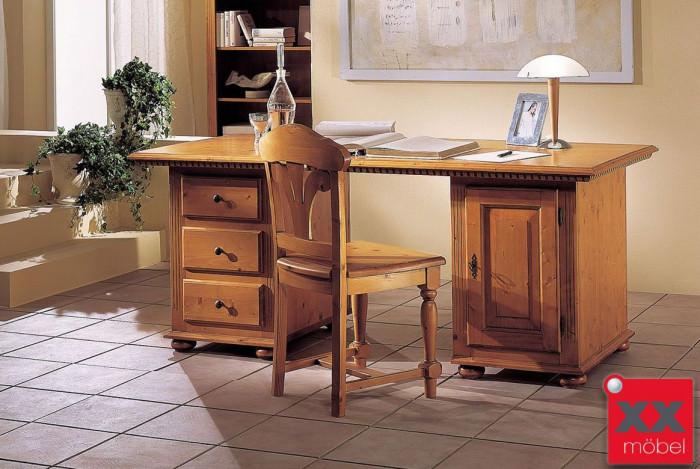 Schreibtisch | Valentina | Fichte Massivholz | T77