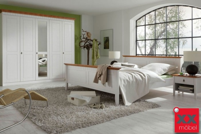 Schlafzimmer | Capri | Kiefer massiv | S01