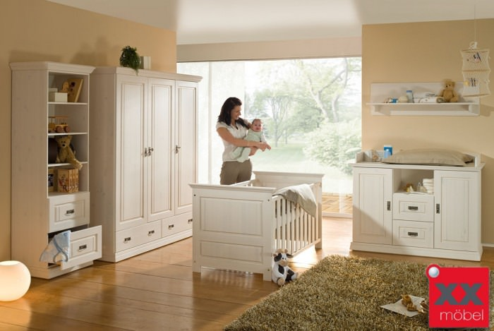 Babyzimmer | Odette | Kiefer Massivholz | B01