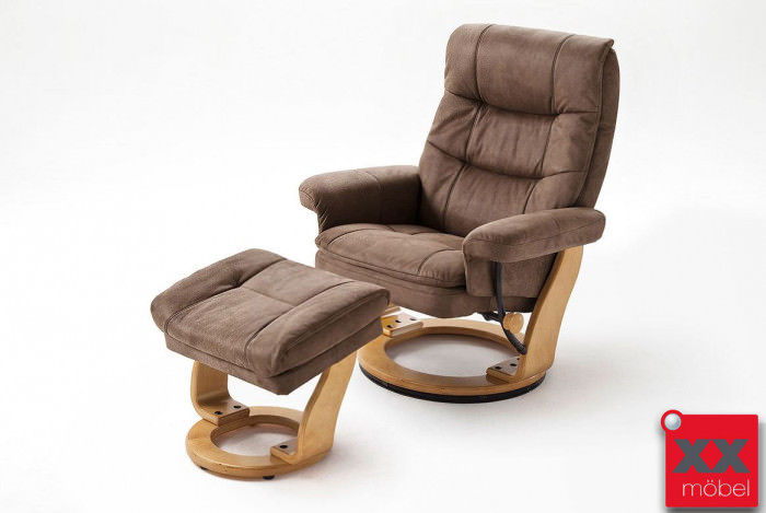 relaxsessel g nstig braun microfaser mca relaxsessel kaufen ak5. Black Bedroom Furniture Sets. Home Design Ideas