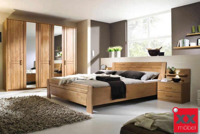 schlafzimmer komplett rauch sitara erle teilmassiv b71. Black Bedroom Furniture Sets. Home Design Ideas