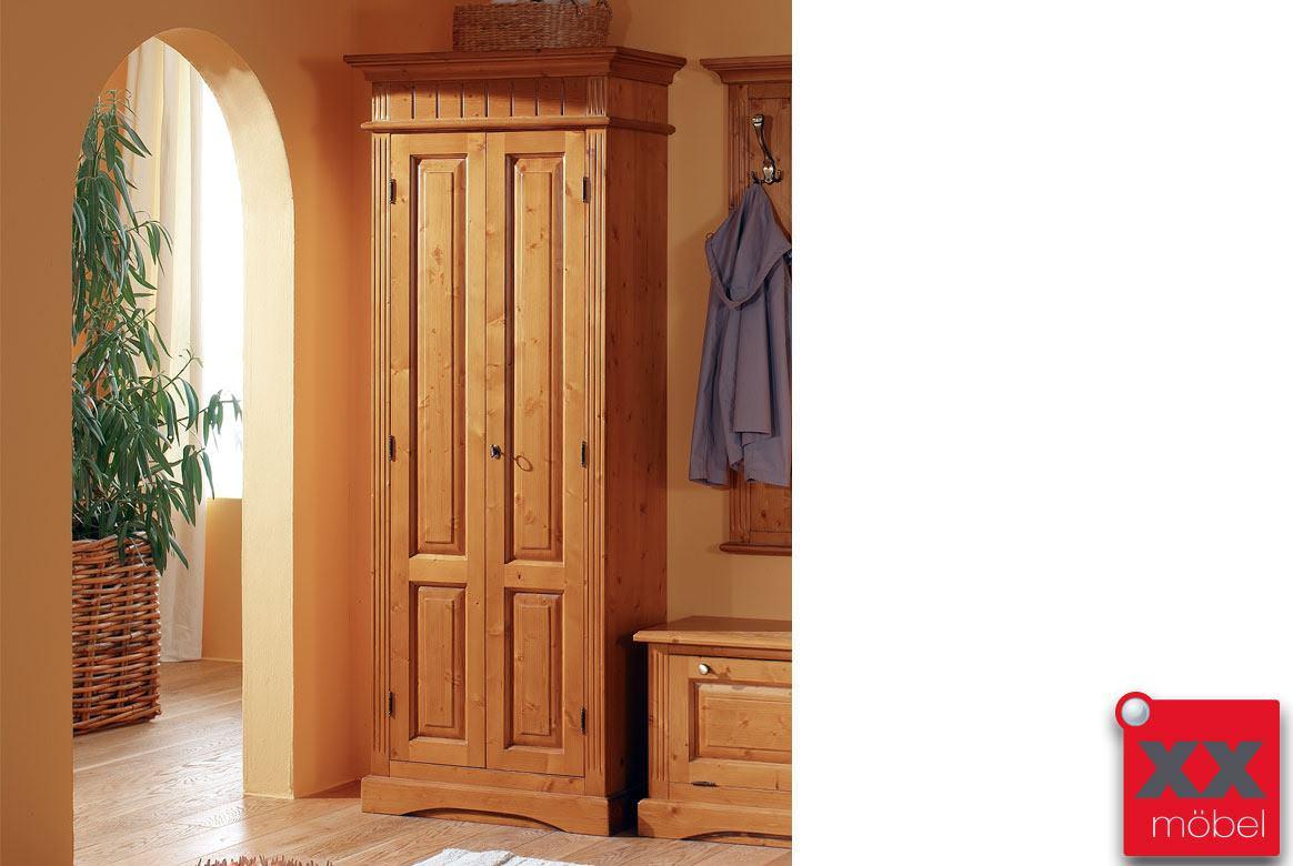 dielenschrank landhausstil lara fichte massivholz t71. Black Bedroom Furniture Sets. Home Design Ideas