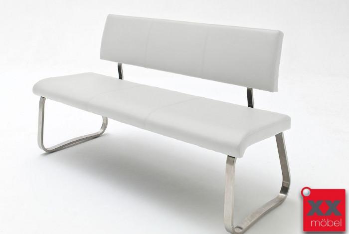 Sitzbank Modern sitzbank modern arco echtleder weiss ab1