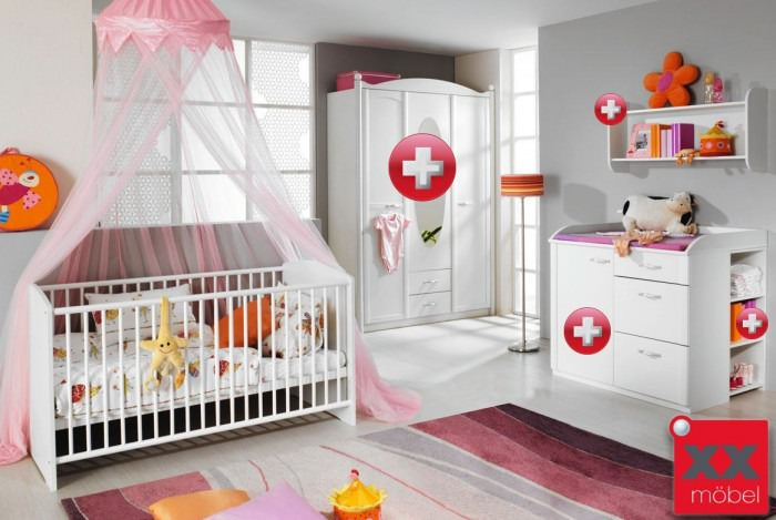 babyzimmer komplett angebot trendy babyzimmer komplett. Black Bedroom Furniture Sets. Home Design Ideas