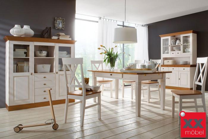 Tischgruppe | Linea | Kiefer Massivholz | K16