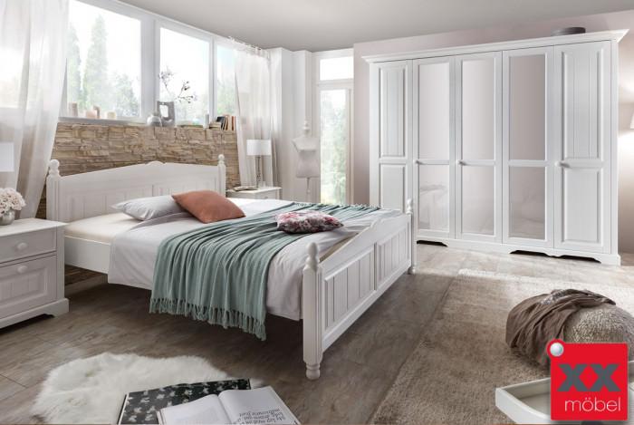 Schlafzimmer | Pisa | Kiefer teilmassiv | S02