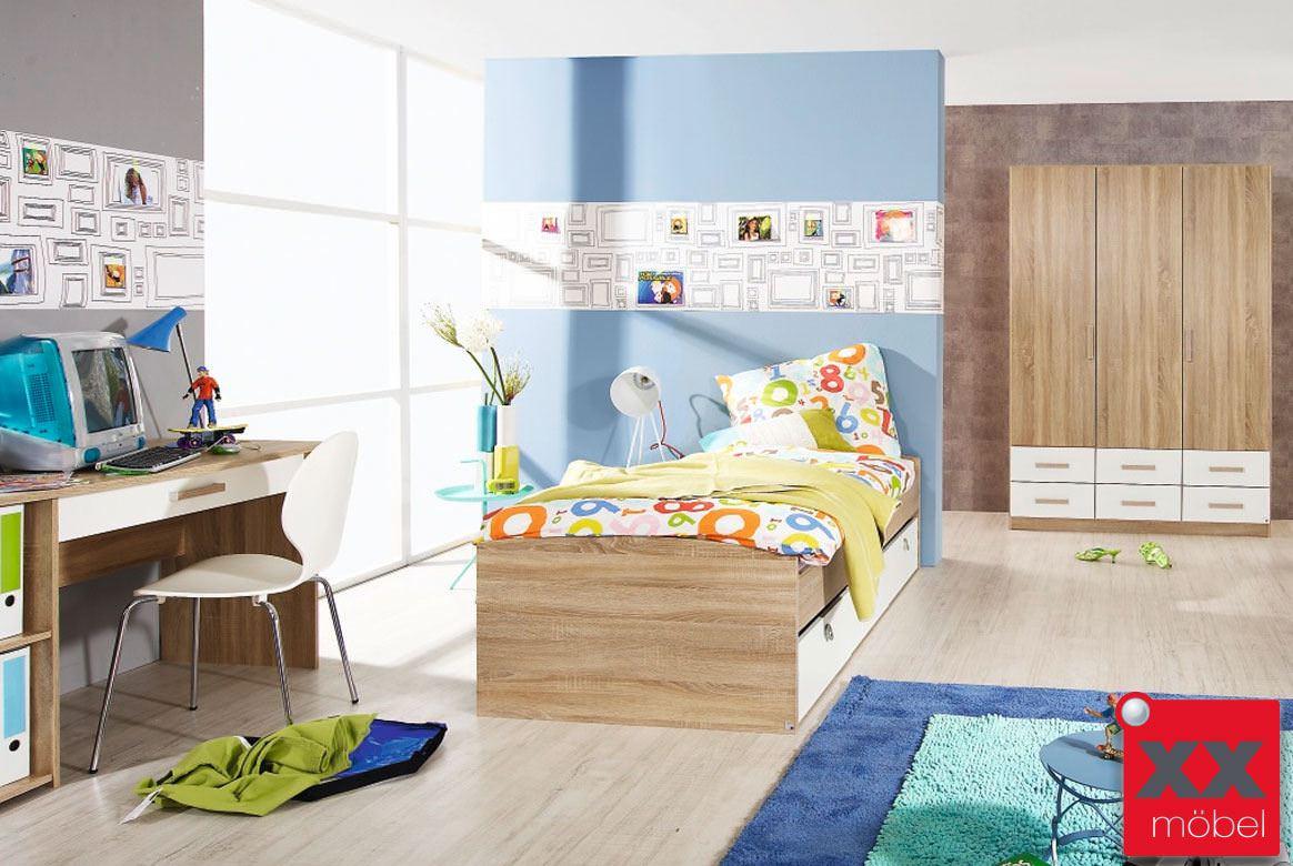 kinderzimmer sparset g nstig samira komplett modern m03. Black Bedroom Furniture Sets. Home Design Ideas