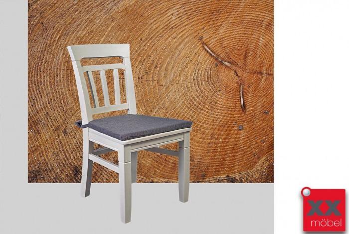 Esszimmerstühle | Lena | Astfichte Massivholz weiß | T13