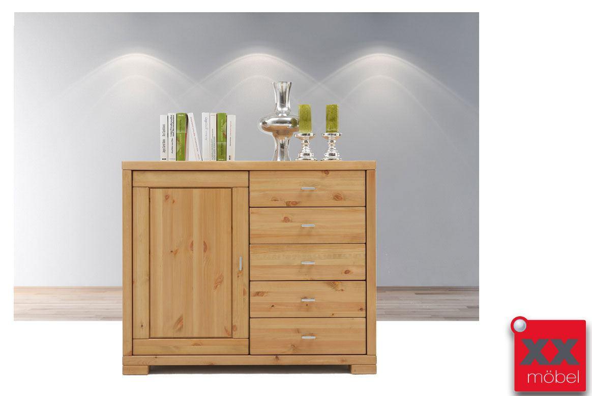 Kommode massivholz vita kiefer gebeizt ge lt t03 - Massivholz wohnzimmermobel ...