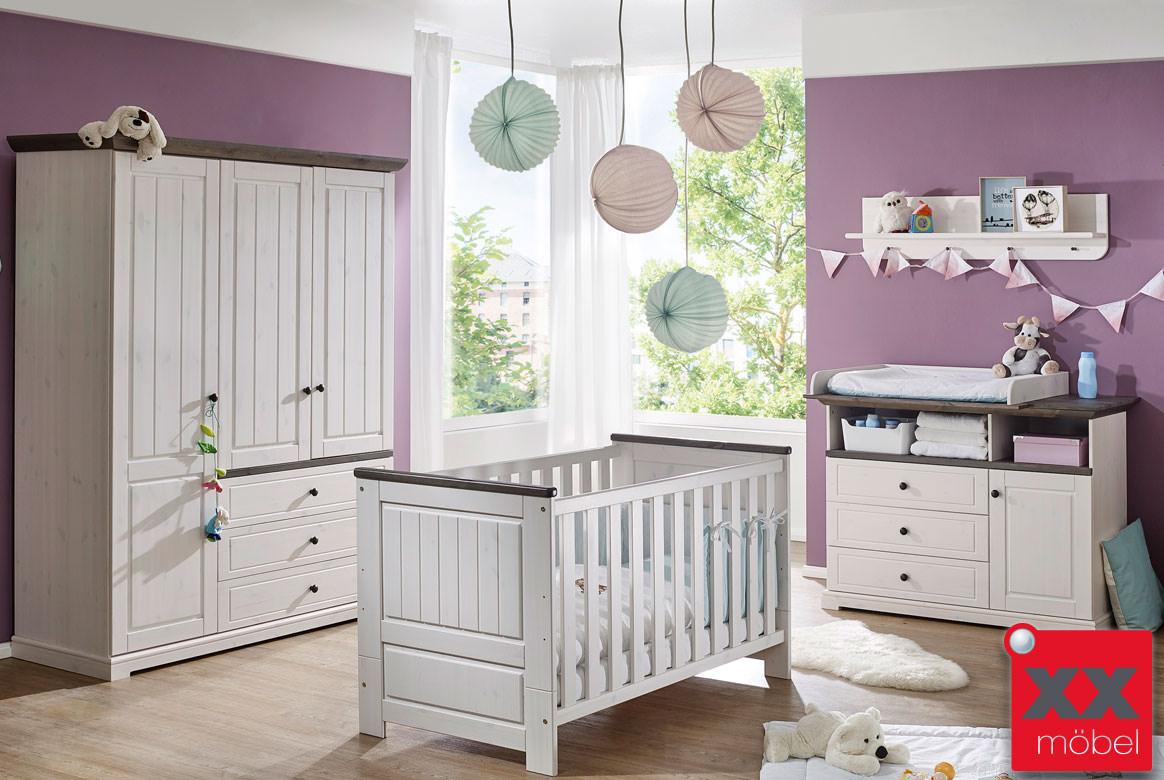 Babyzimmer Landhausstil | Jolina | Kiefer Massivholz | B02