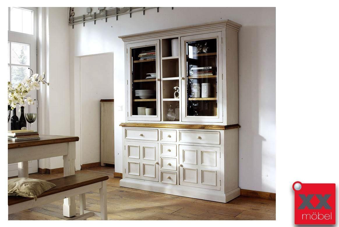 Buffetschrank Landhaus | Bodde | Recycle-Kiefer Massivholz | T13