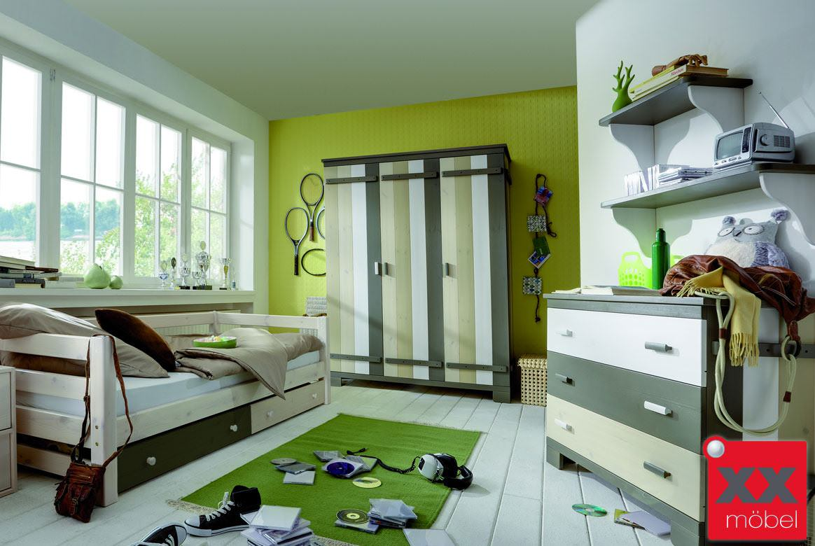 Kinderzimmer kiefer modern merlin kinderzimmer massivholz m01 ebay - Kinderzimmer modern ...