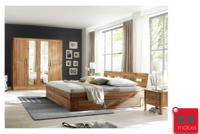 Schlafzimmer | Modset | Kernbuche massiv | K08