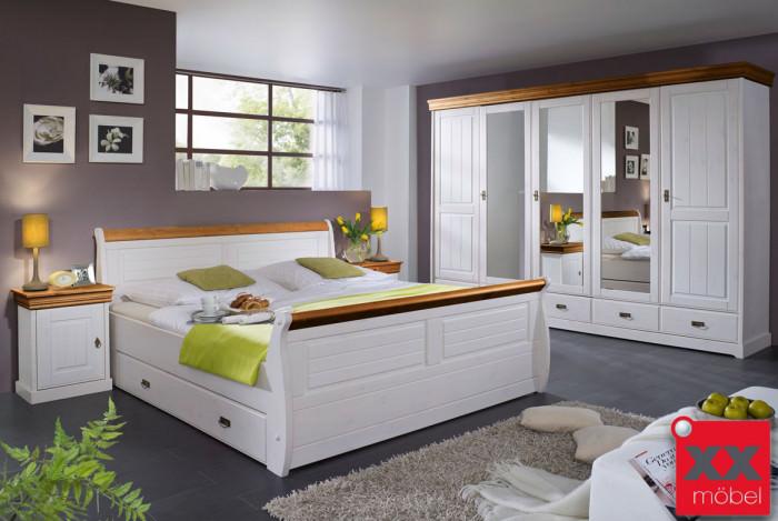 schlafzimmer linea kiefer massiv s01 - Schlafzimmer Mobel Landhausstil