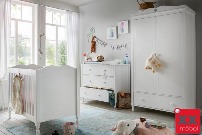 Babyzimmer | 4-tlg. | Emma | Landhausstil | E01