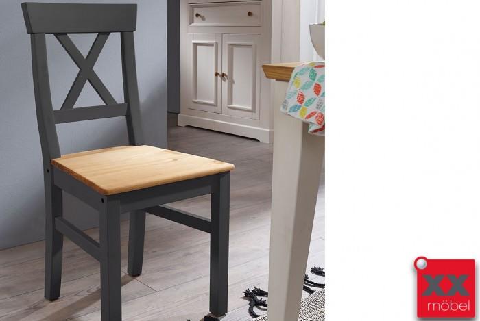 Stuhl Set | Windsor | Kiefer Massivholz | T65