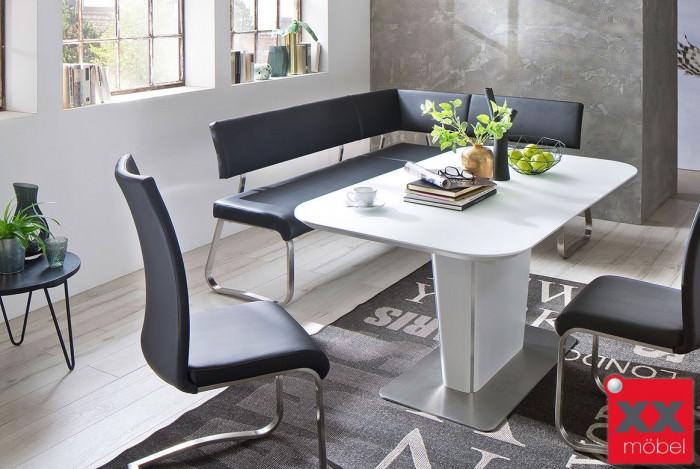 Eckbank Echtleder | Arco | Farbe braun | EK4