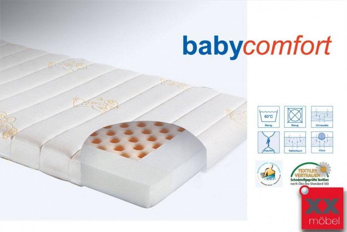 Babymatratze Kaltschaum Babycomfort | H2 | Ergovital®