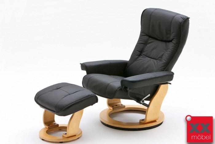 relaxsessel g nstig leder schwarz mca relaxsessel kaufen sn5. Black Bedroom Furniture Sets. Home Design Ideas
